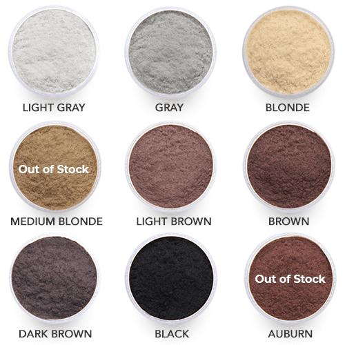 Hairmax Saç Renkleri
